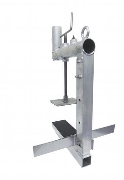 スタンション パラペット 屋上防水工事のパラペット形状別、仮設安全手摺の選定について